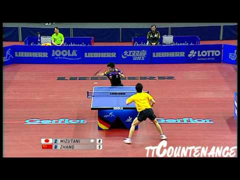 World Cup: Zhang Jike-Jun Mizutani
