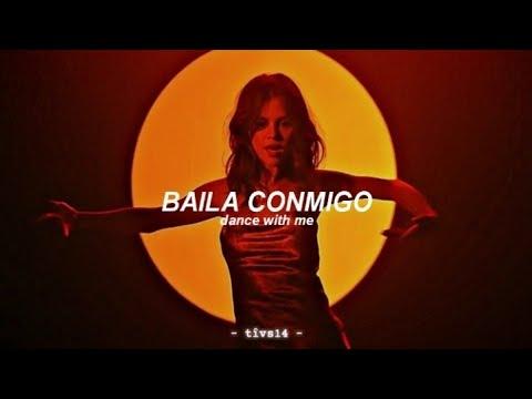 Selena Gomez, Rauw Alejandro - Baila Conmigo (Alternative Video) || Letra + English Translation