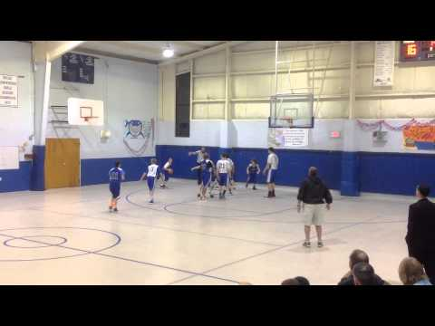 Mannington Varsity Boys vs SCCA 2/18/14