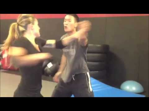 Serinda Swan fight training