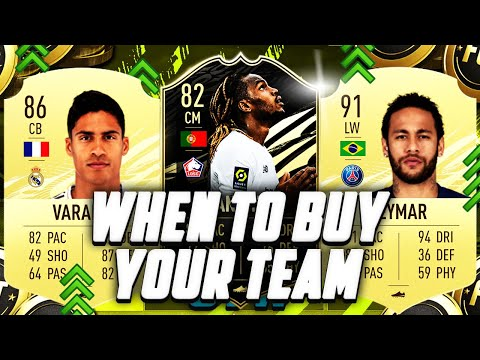 FIFA 21 WHEN TO BUY YOUR TEAM!! WHY THE MARKET IS LOW & WHEN WILL IT GO UP?! FIFA 21 Ultimate Team