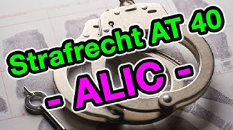 Actio Libera in Causa (A.L.I.C.) - Strafrecht AT 40
