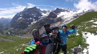 Mountain bike Tour around the Mont Blanc