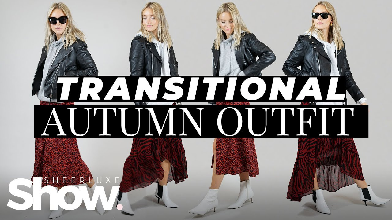 [VIDEO] - Transitional Autumn Outfit Idea - How To Make The High Street Look High End | SheerLuxe Show 1