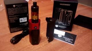 WISMEC Reuleaux RX 2/3 150W / 200W TC Box Mod - RED WITH BLACK (GearBest.com)