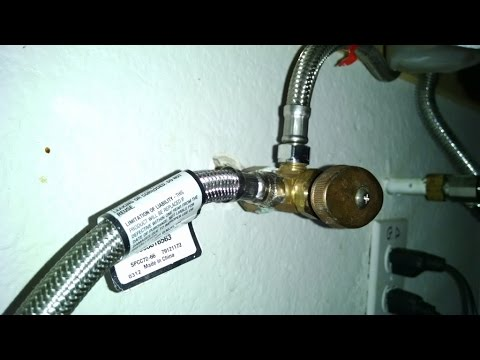Home Repair Water Shut Off Under Kitchen Sink By Froggy Youtube