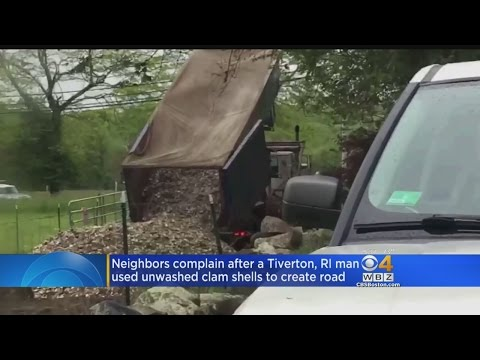 Tiverton, RI Residents Fighting Back Against Clam Shell Stench