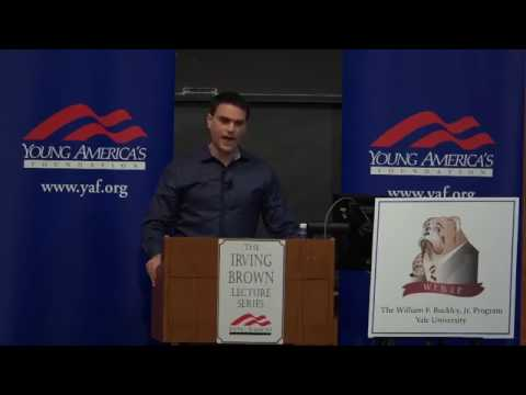 Ben Shapiro Makes Leftist Snowflakes Run For Safe Spaces at Yale University