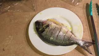 Как вкусно приготовить Дорадо на гриле двумя способами