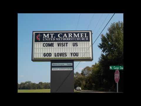 Mt  Carmel  Service 9 24 2017 Tom Reed