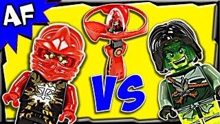 vuclip Lego Ninjago KAI vs MORRO Airjitzu Battle & Review 70739