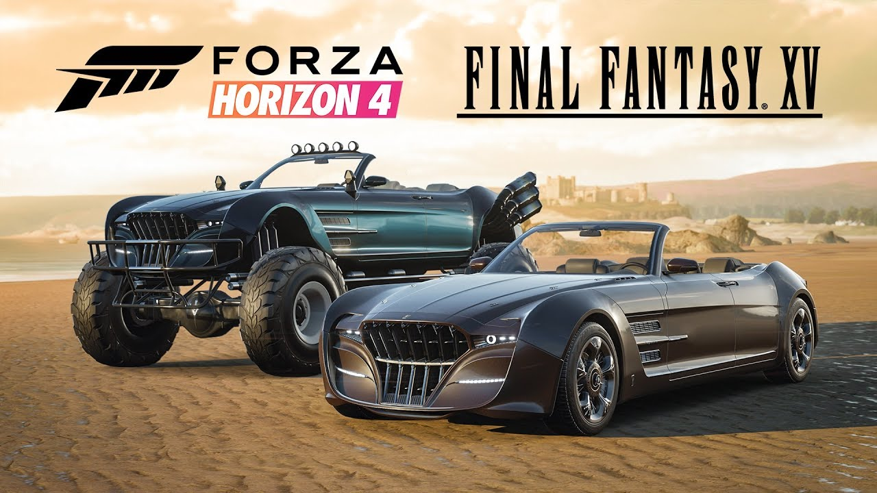 Two cars from Final Fantasy 15 are coming to Forza Horizon 4