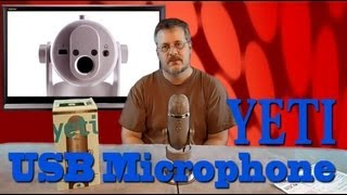 Blue Yeti - USB Microphone Introduction and Comparison Test