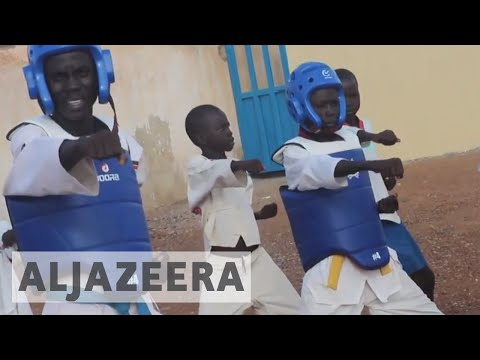 South Sudan's orphans seek solace in martial arts