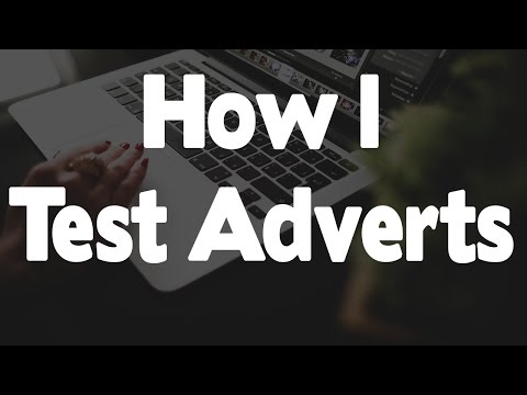 How I Do My Facebook Adverts When Testing A New Product (eCom)