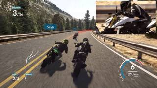 RIDE - pc gameplay realistic AI difficulty Suzuki GSR 750