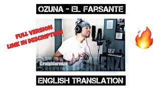 Ozuna El Farsante English Cover.mp3