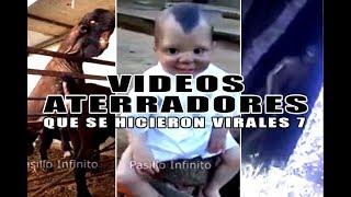 Videos Aterradores que se Volvieron Virales # 7 l Pasillo Infinito