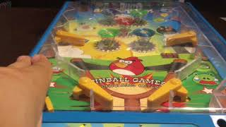 Angry Birds Pinball Game Machine Reviews