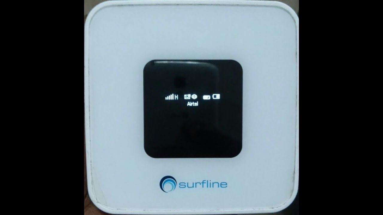 How to FIX no Service after unlocking Surfline MiFi - YouTube
