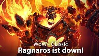 WoW Classic - Ragnaros ist down! (Deutsch / German)