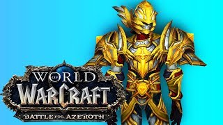 BFA Ret Paladin PvP 110 Duels - World of Warcraft: Battle For Azeroth (BETA)