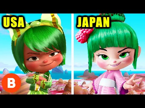 Pixar Movie Changes In Other Countries