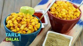 Spicy Masala Corn by Tarla Dalal