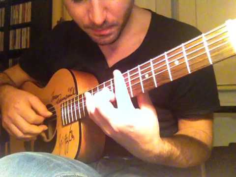 The Christmas Song Chords Guitar Mini Maton - YouTube