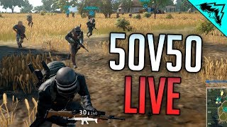 50 V 50 BATTLEGROUNDS - Player Unknown