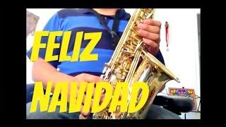 Feliz Navidad Saxofon Instrumental (Partitura en Descripcion)