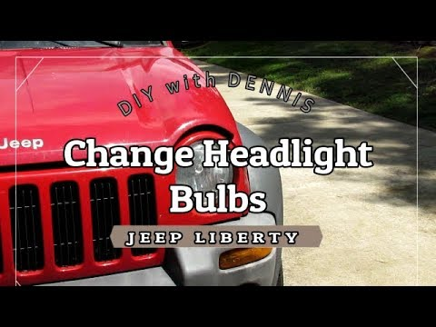 Change Headlight Bulbs On A Jeep Liberty