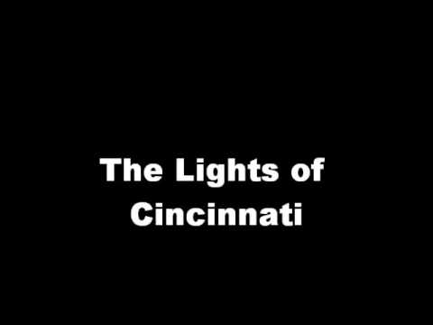 lights of cincinnati - scott walker cover