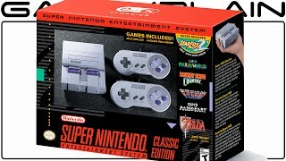 Super NES Classic Edition Announced! 21 Games +  STAR FOX 2 Built-In