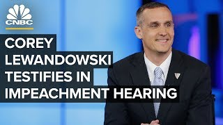 Ex-Trump campaign manager Lewandowski testifies in impeachment hearing – 09/17/2019