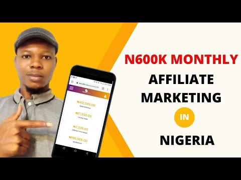 Affiliate Marketing In Nigeria: N600,000 With Learnoflix Affiliate Program