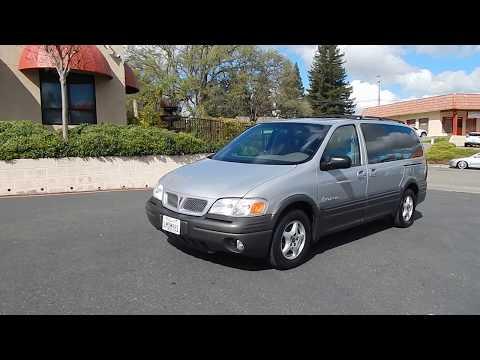 2000 Pontiac Montana 1 Owner Minivan Video Overview And Walk Around.
