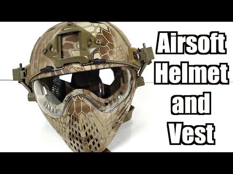 Airsoft Plate Carrier And Helmet Review