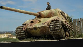 Jagdtiger's Last Stand - 1/35 Diorama | Germany, March 1945