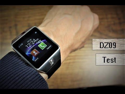Smartwatch DZ09 für 20€ im ausführlichen Review