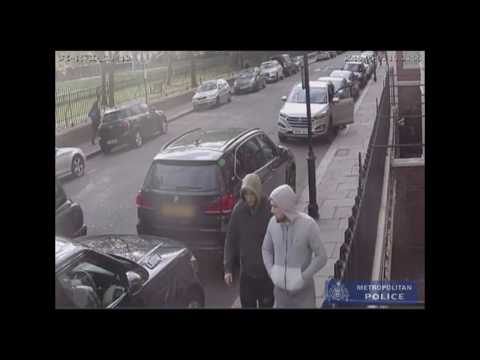 Police release CCTV footage of £50,000 watch robbery #Robbery #KinfeCrime #London