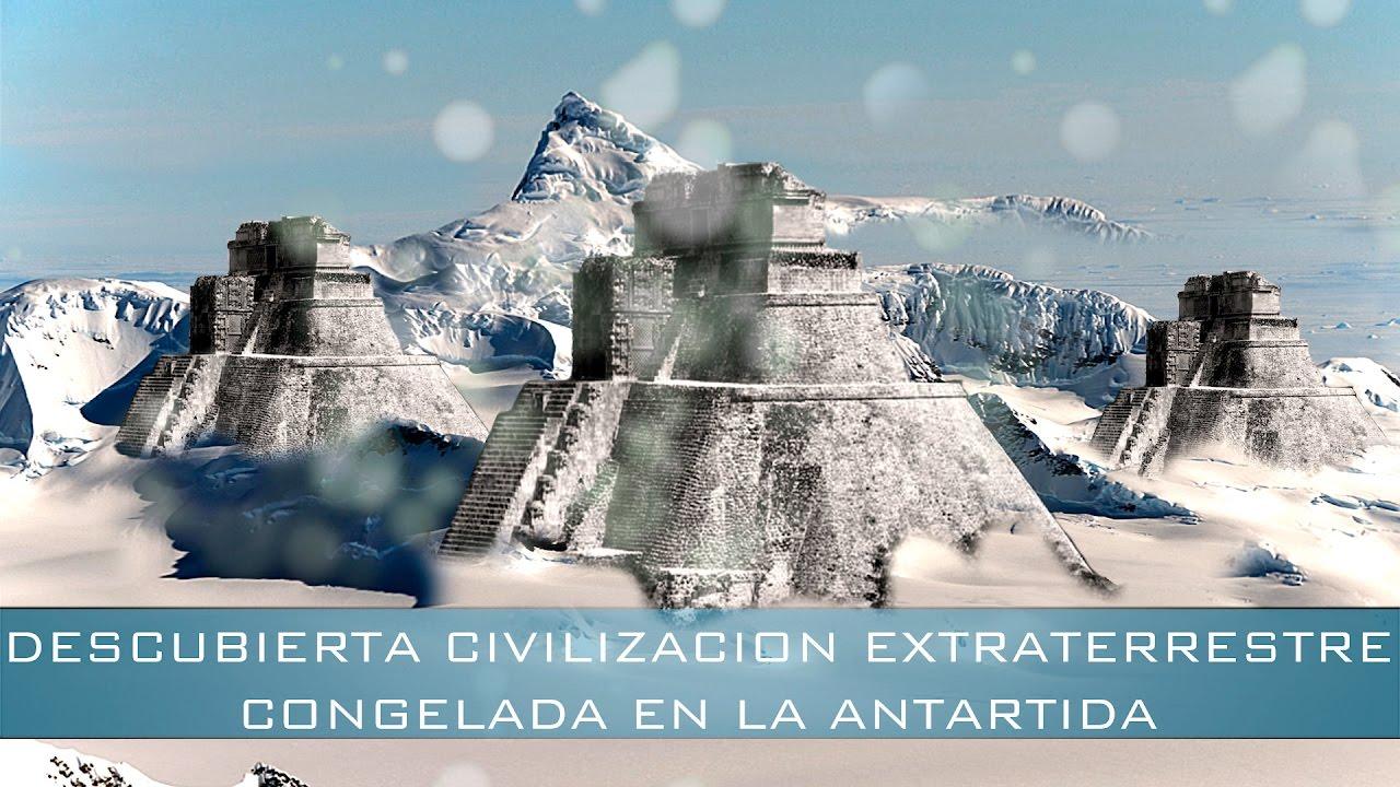 Resultado de imagen de civilización extraterrestre de la Antártida