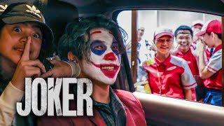 JOKER Drive Thru Scare Prank!! | Ranz and Niana