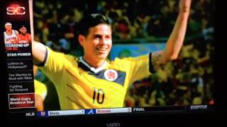 James Rodríguez on ESPN