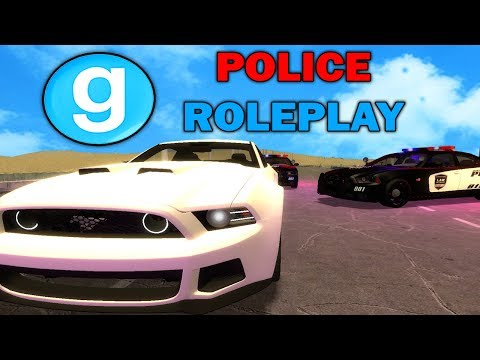 ESCAPING THE COPS IN GMOD!! Garry's Mod Police Roleplay (Gmod Police RP)