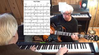 Nice 'N Easy - Jazz guitar & piano cover ( Lew Spence )