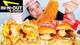 In-N-Out Burger • MUKBANG