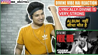 DIVINE – Vibe Hai Reaction - Vibe Hai Kohinoor Song Reaction - Vibe Hai Divine Reaction