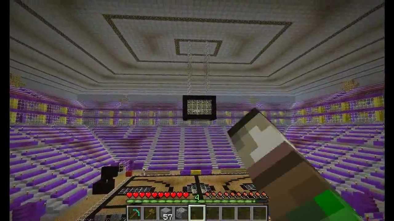 Center Staple - (Lakers Minecraft Stadium) YouTube