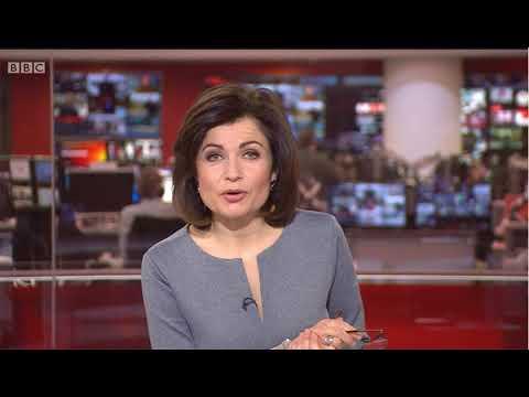 Snow Storm Report BBC News 28/2/18
